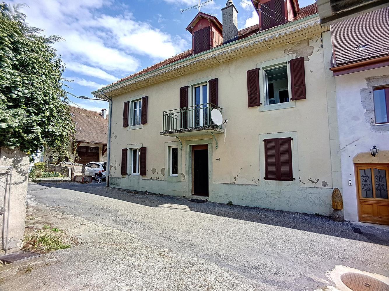 Maison Villageoise Avec Dépendance Garage à 8 Min. Du0027Yverdon