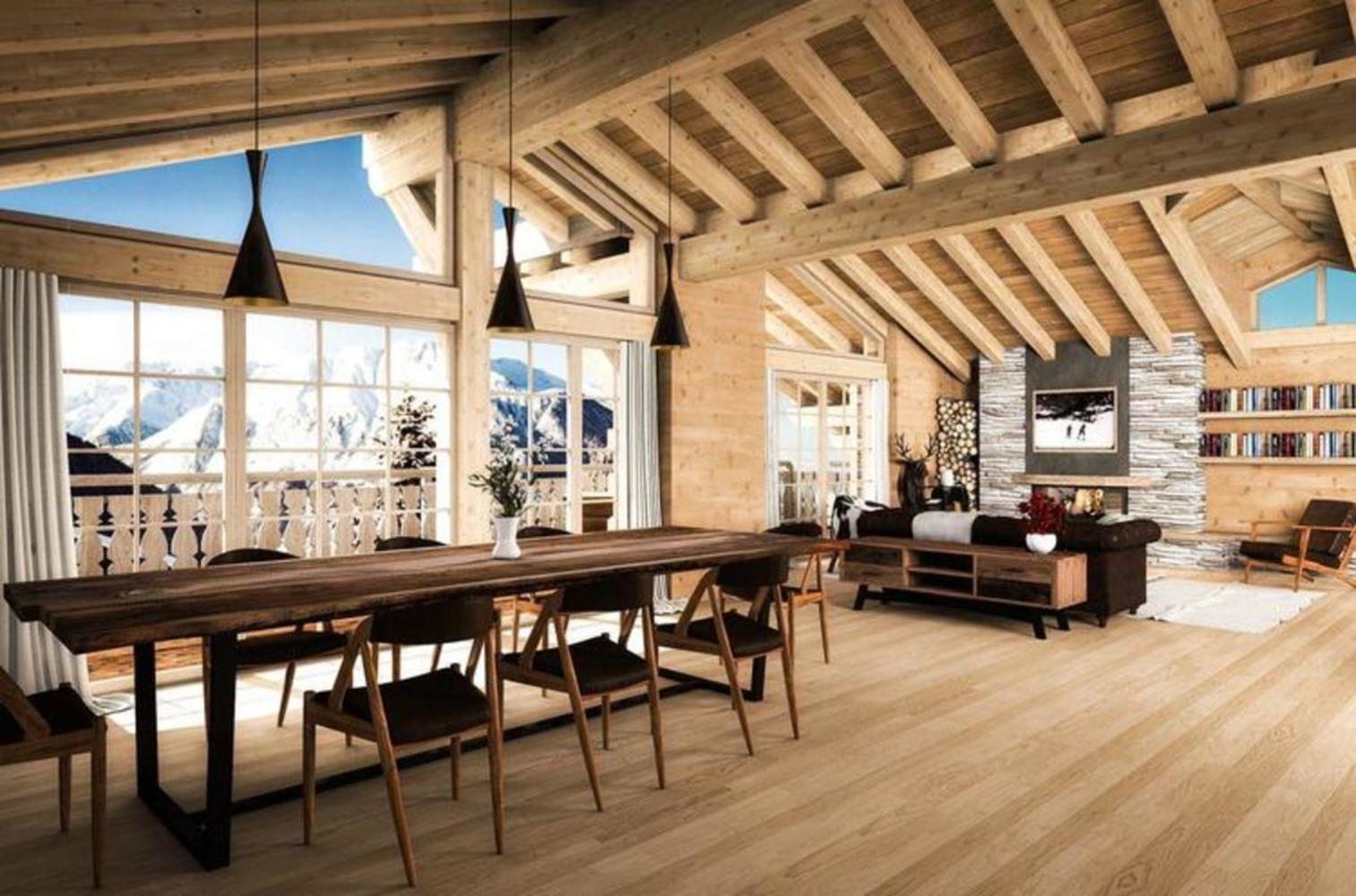 gerofinance verbier splendide chalet construire. Black Bedroom Furniture Sets. Home Design Ideas